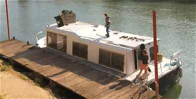 P niche vendre bateau fluvial occasion vente peniche am nag e - Appartement a vendre cergy port ...