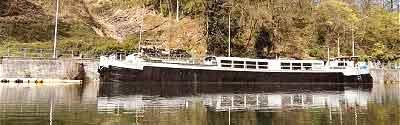 Péniche à vendre à Profondville sur la Meuse